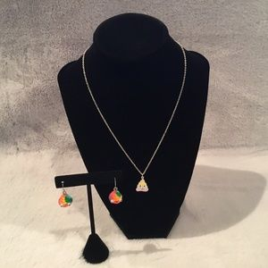 Claire's Necklace and earrings